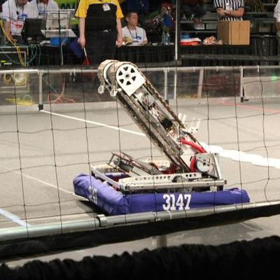 Our Robot in action :D